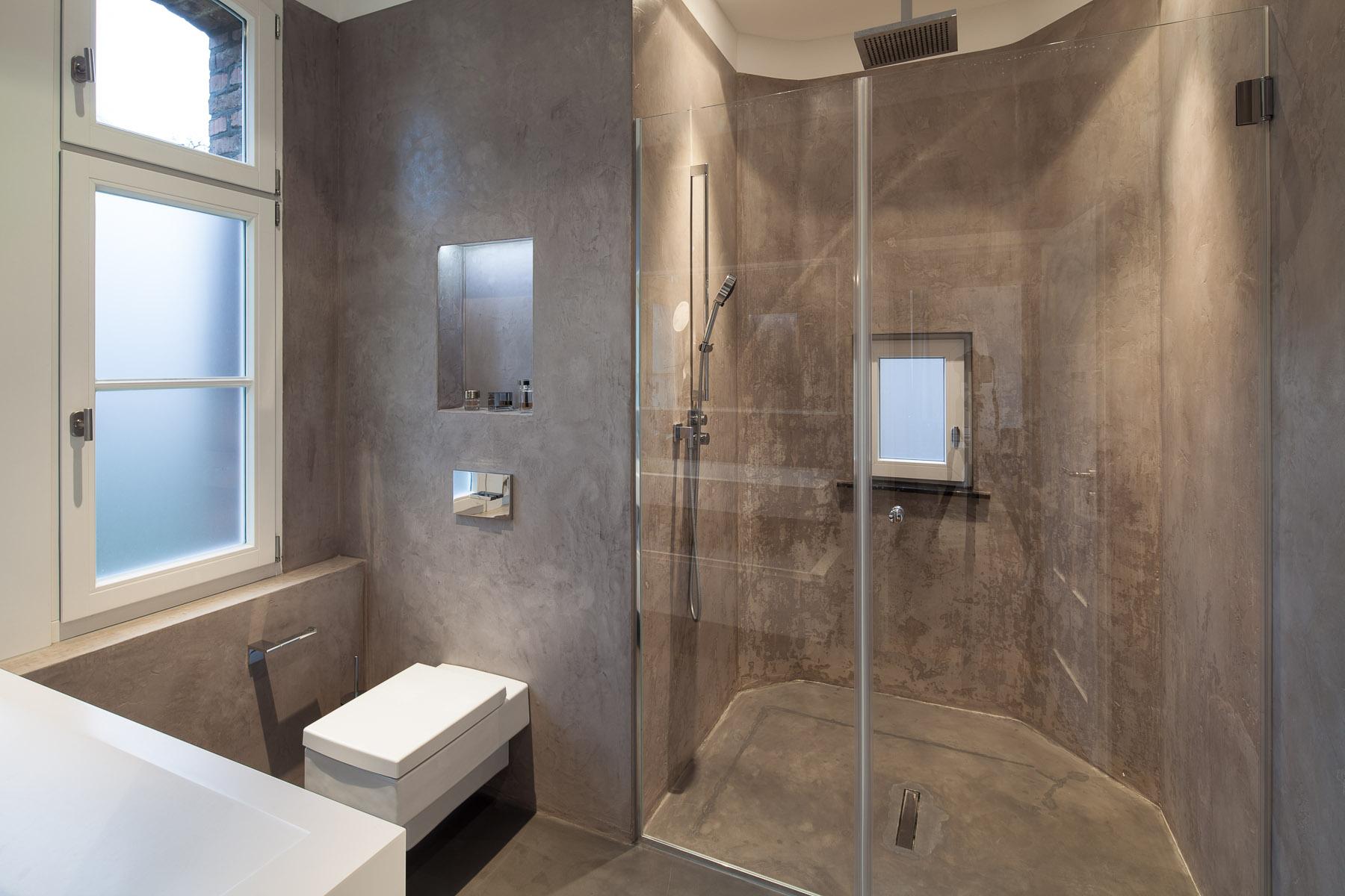 Badezimmer Beton Putz #21: Stkn Architekten Blog Dekorative Oberflchen In Bad Und Kche U Es Mssen  Nicht Immer Fliesen Sein.